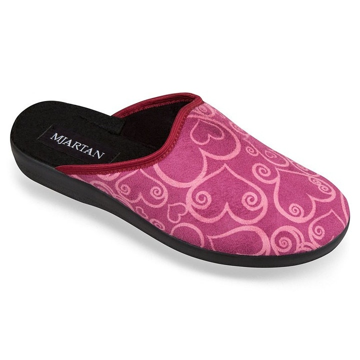 Saboti de casa, pentru femei, Mjartan 607-D29 roz