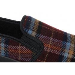 Pantofi de casa, pentru femei, Mjartan 623-K34, carouri