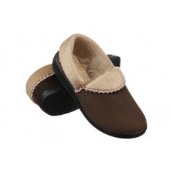 Pantofi de casa, pentru femei, Mjartan 031-T72 maro