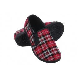 Pantofi de casa, pentru femei, Mjartan 623-K18 carouri