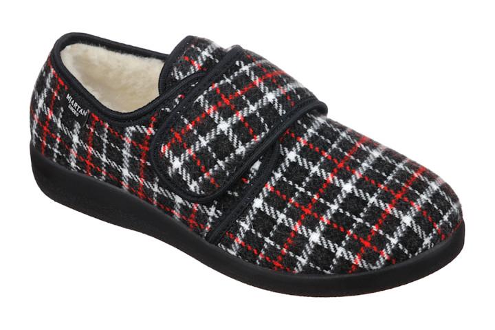 Pantofi de casa imblaniti Mjartan 851 reglabili