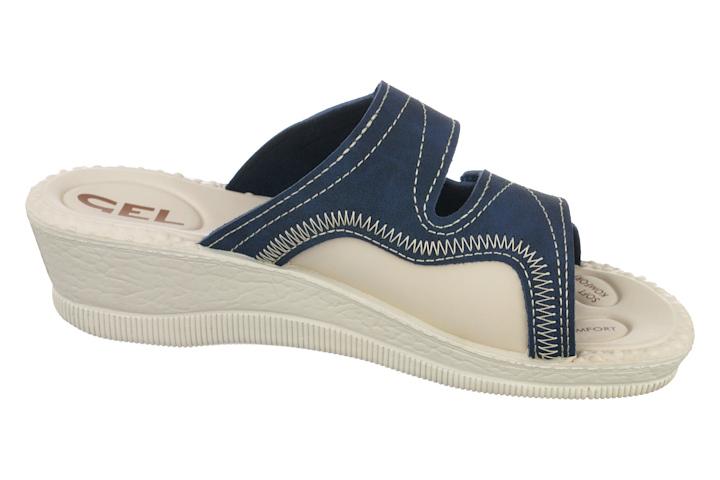 Papuci pentru monturi Hallux valgus 2817-N17 bleumarin