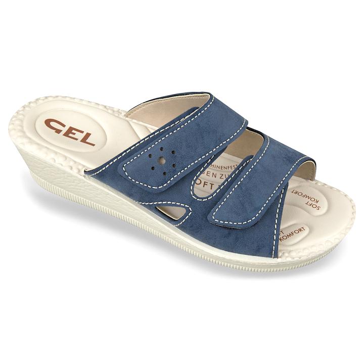 Papuci de vara ortopedici dama bleumarin Mjartan 2814-P415