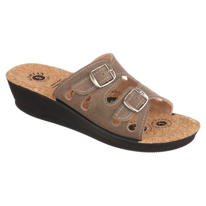 Papuci de vara ortopedici maro dama Mjartan 2802-N14K