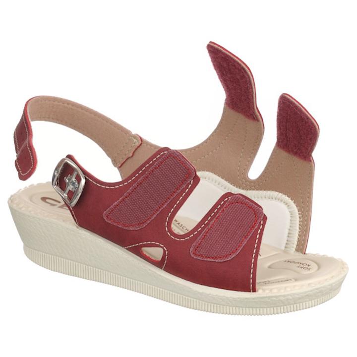 Sandale pentru Halluc Valgus / monturi 2815-N16 bordo